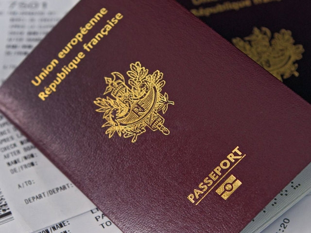 passeport france passaporto francese