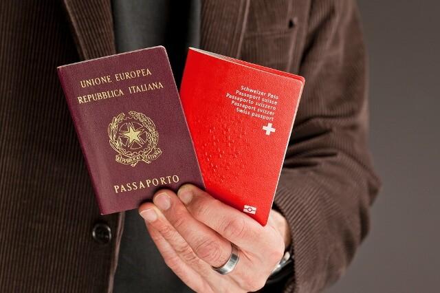 passaporto svizzero italiano