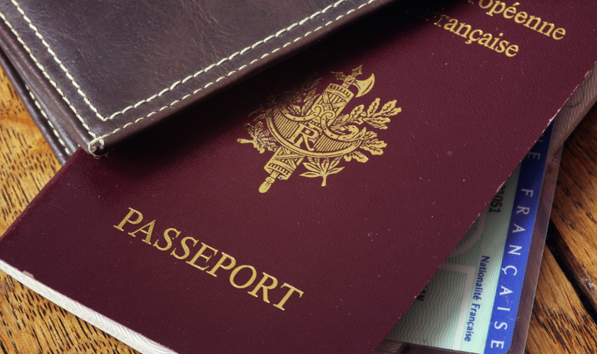 passaporto francese passeport
