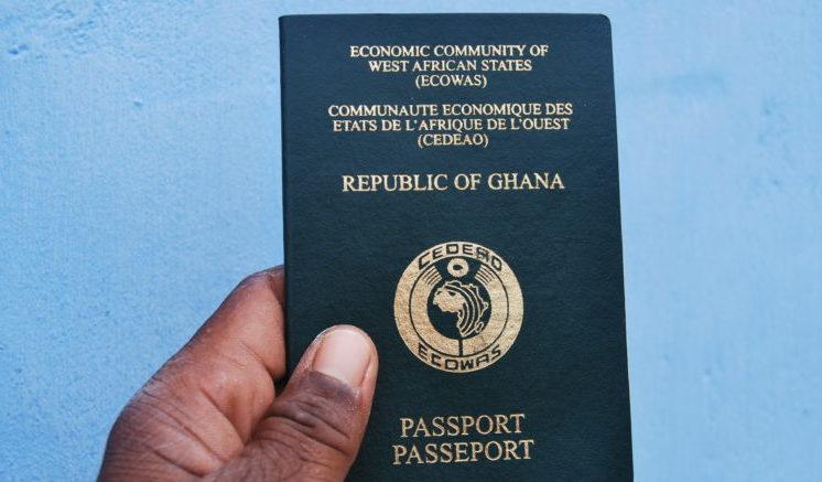 passaporto ghana ghanese