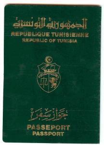 الجنسية التونسية passaporto tunisino