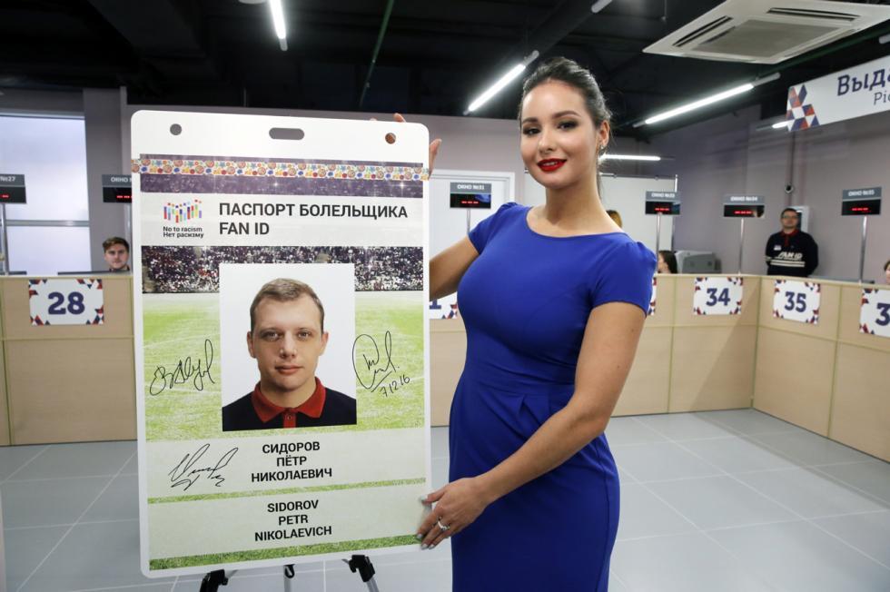 Fan ID Passaporto del tifoso Russia