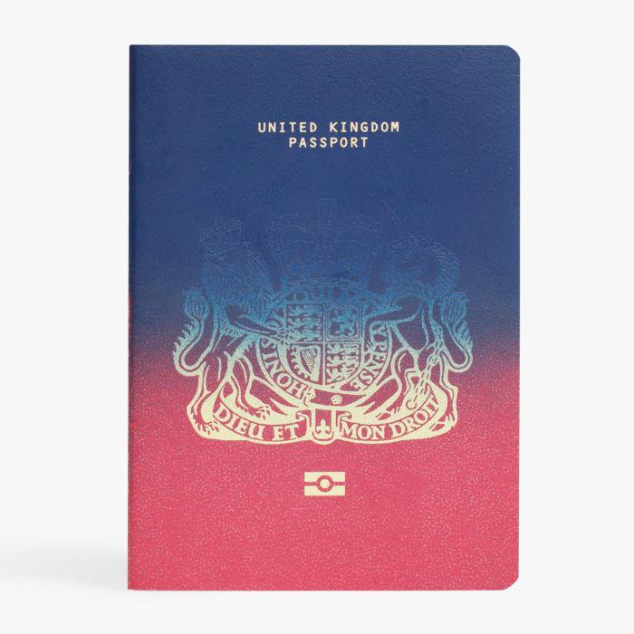 nuovo passaporto inglese