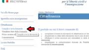 pratica di cittadinanza online