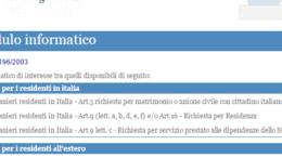richiesta cittadinanza italiana per matrimonio
