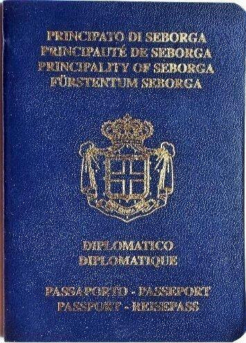 passaporto diplomatico principato di seborga