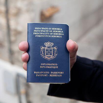 passaporto regno di seborga