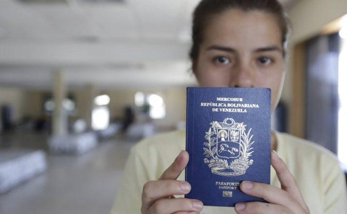 passaporto venezuela cittadinanza