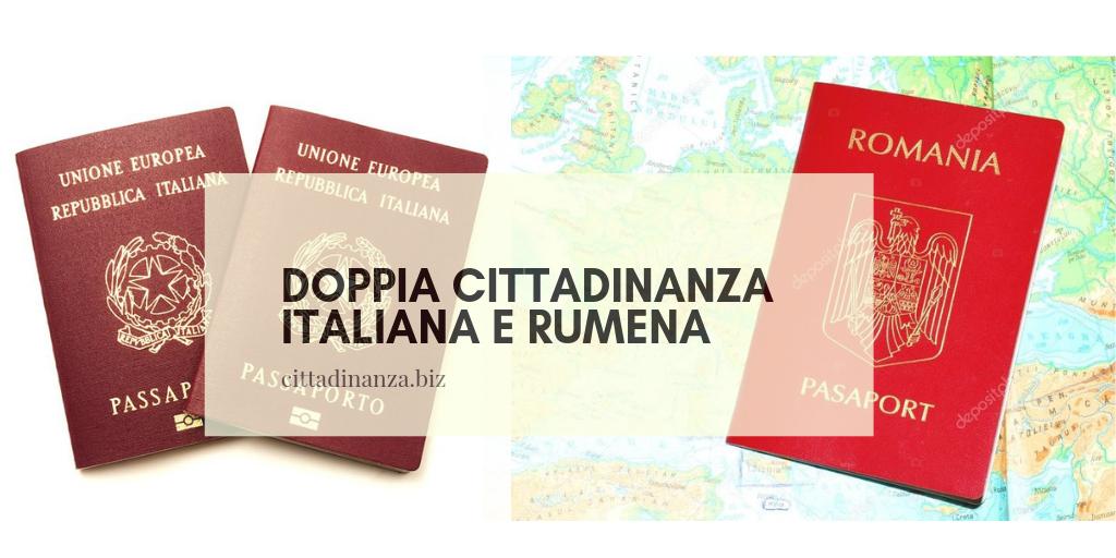doppia cittadinanza italiana e rumena