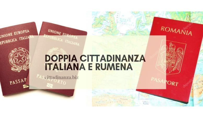 Doppia cittadinanza e Romania | Cittadinanza italiana