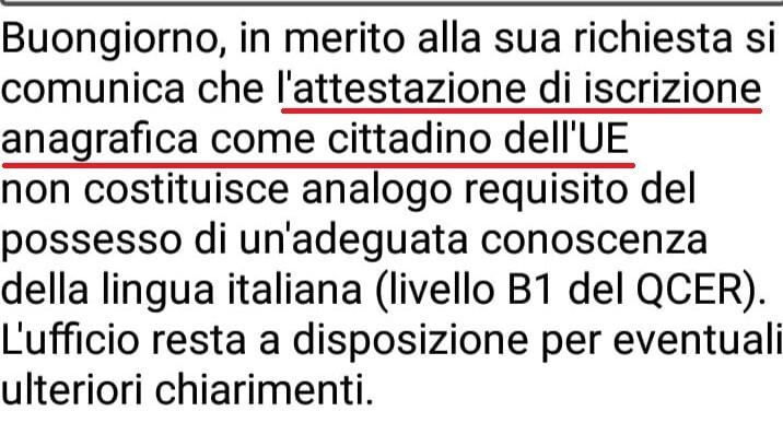 Lingua italiana obbligatoria per la cittadinanza nel decreto ...