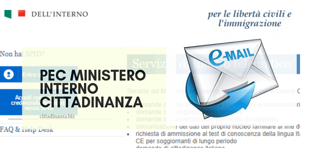 Pec Ministero Interno Cittadinanza