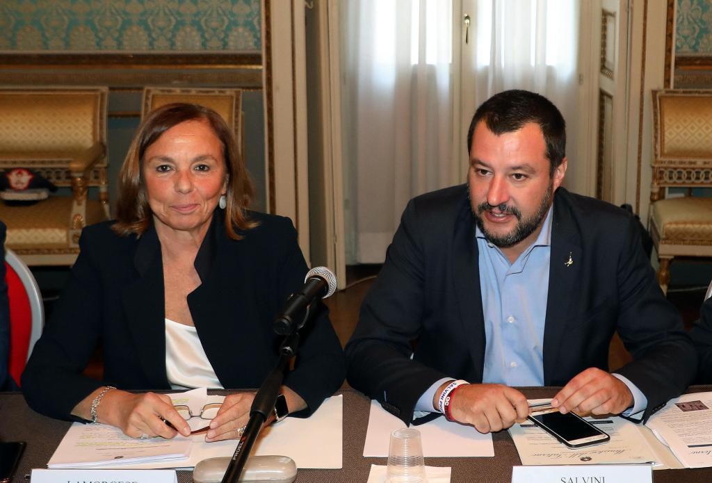 Lamorgese e Salvini