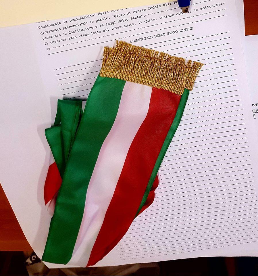 foto giuramento cittadinanza italiana