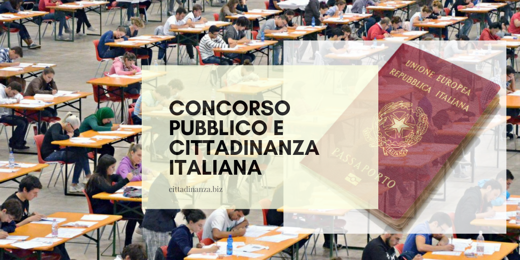 Concorso pubblico e cittadinanza italiana