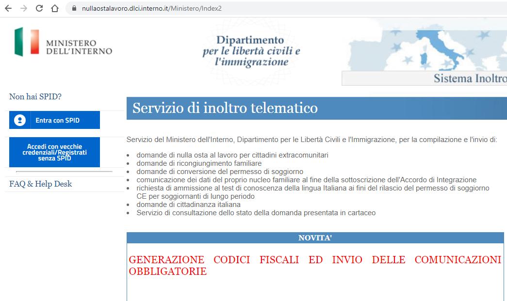 Controllo Pratica Cittadinanza Online Cittadinanza Italiana