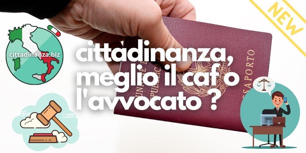 Patronato Caf O Avvocato Per La Cittadinanza Online Cittadinanza Italiana